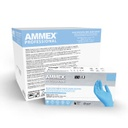 AMMEX Stretch Synthetic Blue Vinyl PF Exam Gloves
