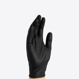 [GS00011] Gloveworks Synthetic Black Vinyl PF Ind Gloves