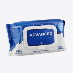 Advanced Alcohol Wipes Pouch 80ct